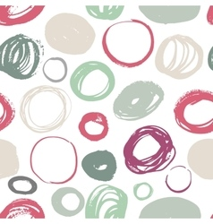 Seamless brush strokes pattern vector image vector image