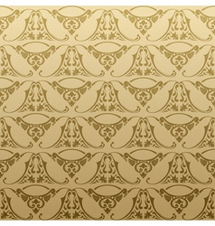 seamless retro background pattern vector image vector image