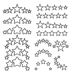 Five-star quality icons vector image vector image