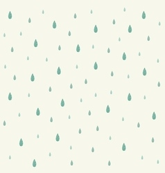 raindrop background vector image