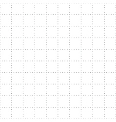 seamless dotted squares geometric pattern vector image