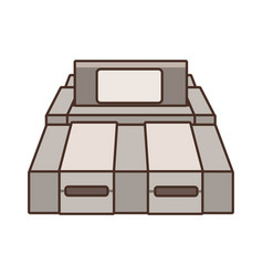 console videogame isolated vector image vector image