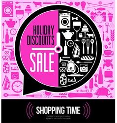 festive sales vector image vector image