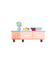 isolated icon furniture vector image
