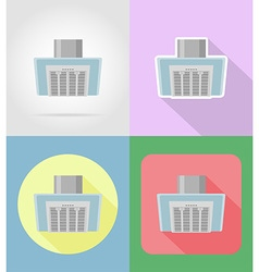 household appliances for kitchen 12 vector image vector image