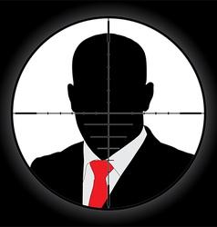 Sniper scope vector image