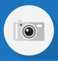 Of home symbol on photo vector
