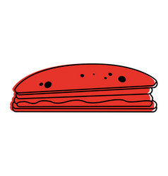 Sandwich food icon image vector
