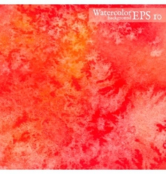 watercolor background Painting vector image