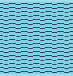 wavy stripes seamless background thin waves vector image