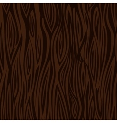 Wood texture background - dark brown vector