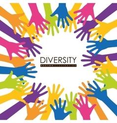Diversity icon design vector
