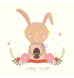 Easter Day background or card vector image