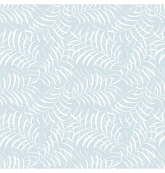 Floral frost seamless pattern vector image vector image