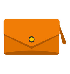small bag icon isolated vector image vector image