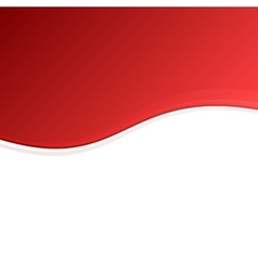Red and White Blank Abstract Background vector image