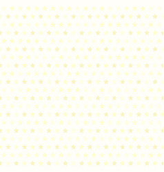 yellow star pattern seamless vector image vector image