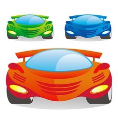 car color vector image