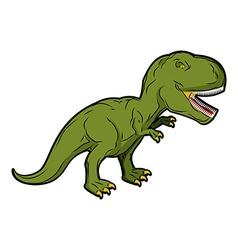 Dinosaur Tyrannosaurus Rex Prehistoric reptile vector
