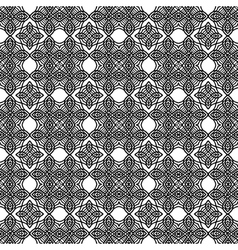 Ornamental Seamless Line Pattern vector image