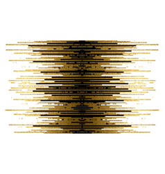gold texture and black lines decoration on the vector image