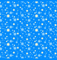 starry night seamless pattern vector image vector image
