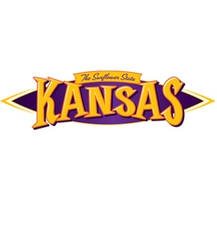 Kansas The Sunflower State vector image