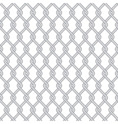 modern wire fence background vector image vector image