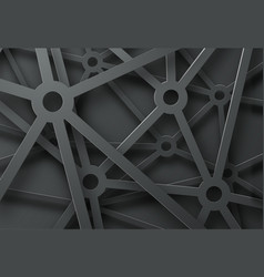 Abstract background with a pattern of cobwebs vector