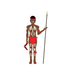 Australian aborigine vector