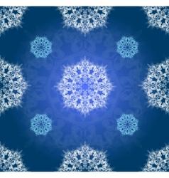 Blue winter ornament simillar vector