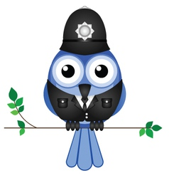 BRANCH POLICEMAN vector