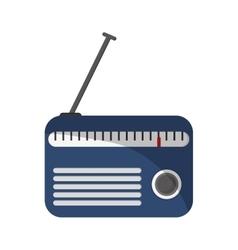 Classic radio icon vector