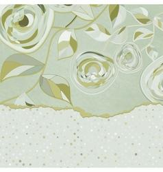 Elegant vintage card vector image