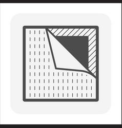 Linoleum floor material or floor finishing vector