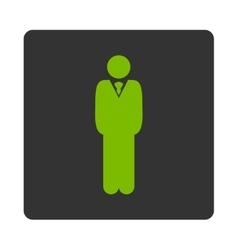 Manager icon vector image