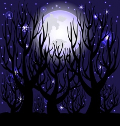 night scene vector image