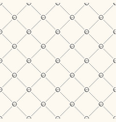 seamless geometric medicine pattern vector image