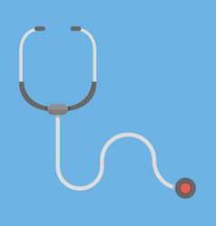 stethoscope healthcare icon vector image vector image