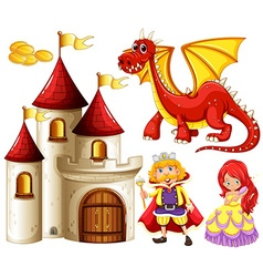 Fairytales vector image vector image