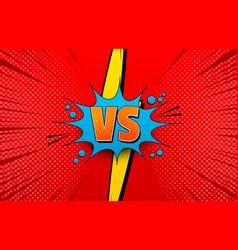 Comic competitive explosive concept vector