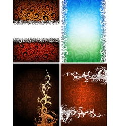 Creative backgrounds vector