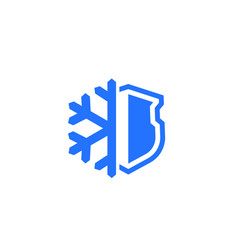 Frost-resistance icon on white vector