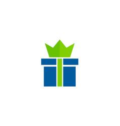 King gift logo icon design vector