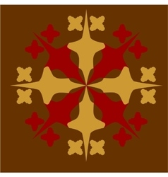 Ornament in color 32 vector image