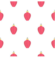 Perfume pattern flat vector
