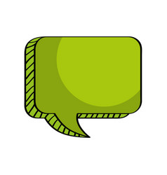 message talk box empty vector image