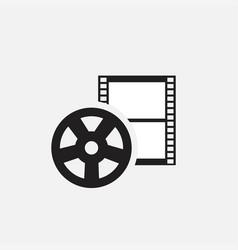 video iconmovies icon vector image