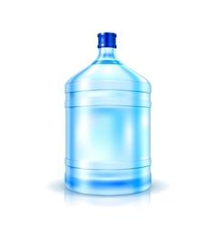 Big Bottle of Water vector image