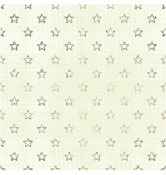 Small star pattern on light background vector image vector image